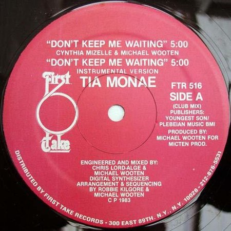 Don't Keep Me Waiting (Vinyl) (Don T Take Me For A Fool)