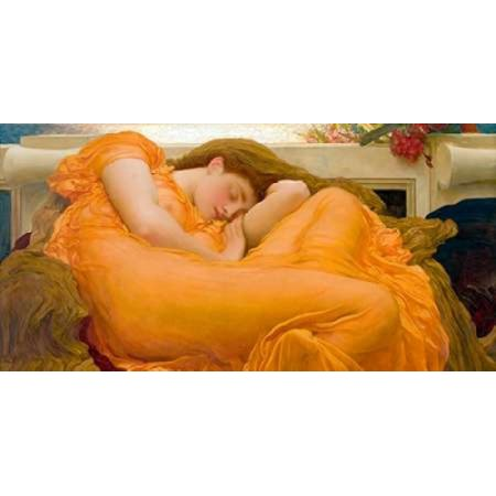 Flaming June Poster Print by Frederic Leighton
