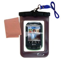 Gomadic Clean and Dry Waterproof Protective Case Suitablefor the Pantech Pursuit II to use Underwater