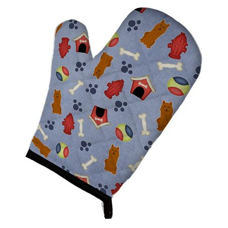Carolines Treasures BB2635OVMT Dog House Collection Karelian Bear Dog Oven Mitt - image 1 of 1