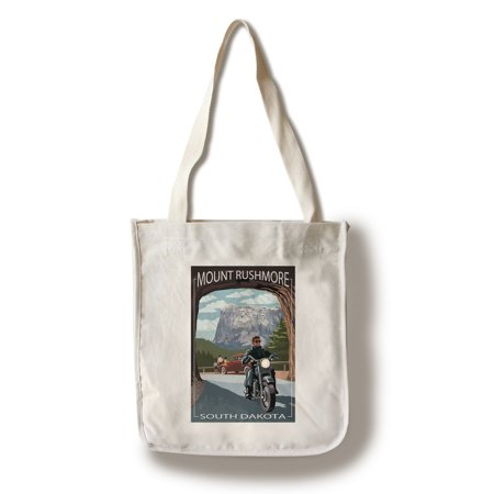 Mount Rushmore National Memorial, South Dakota - Tunnel Scene - Lantern Press Artwork (100% Cotton Tote Bag - Reusable)