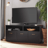 Mainstays 3-Door TV Stand Console for TVs up to 50 , Blackwood Finish