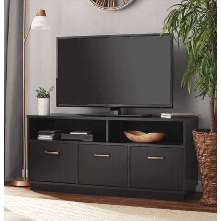 Series 50 Inch Tv Stand (Mainstays 3-Door TV Stand Console for TVs up to 50