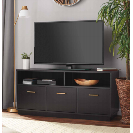 Mainstays 3-Door TV Stand Console for TVs up to 50