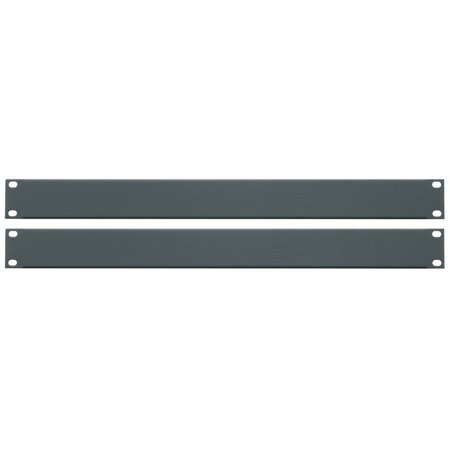 Essex by Middle Atlantic FBPANEL-1U-2PK Flanged Blank Rack Panel 1U -