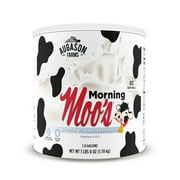 Augason Farms Morning Moo's Low Fat Milk Alternative 3 lbs 8 oz No. 10 Can