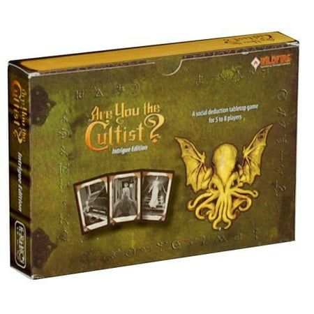 Are You The Cultist Intrigue Edition Board Game (Intrigue Game)