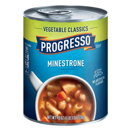 (3 Pack) Progresso Vegetable Classics Minestrone Soup, 19