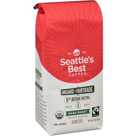 Seattles Best  Organic Fair Trade Signature Blend No  4 Ground Coffee 12 Oz Bag