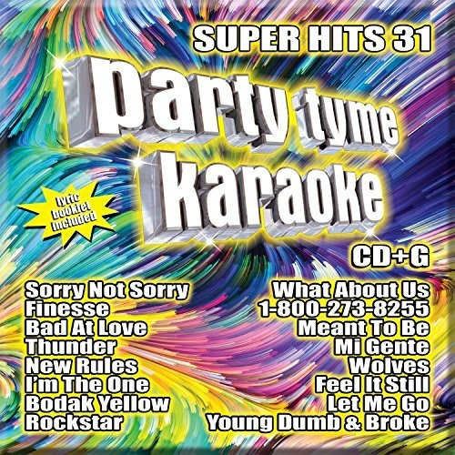 PARTY TYME KARAOKE:SUPER HITS 31 (CD)