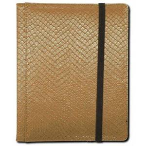 Vallejo Paint LGNBN4DHO Dragon Hide 4 Pocket Binder - Gold