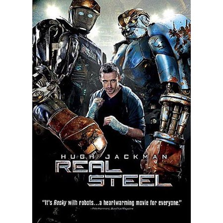 Real Steel (DVD) - Atom Real Steel
