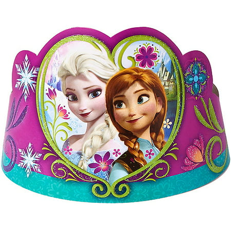 Frozen Party Tiaras 8 Count Party Supplies