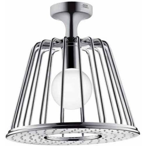Hansgrohe Axor 26032001 2.5GPM Rain Shower Head, Includes LED Light Module, Chrome