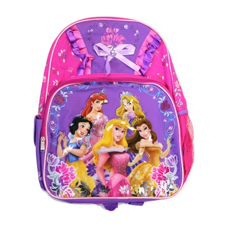 Full Size Purple and Pink Princess Backpack - Disney Princess