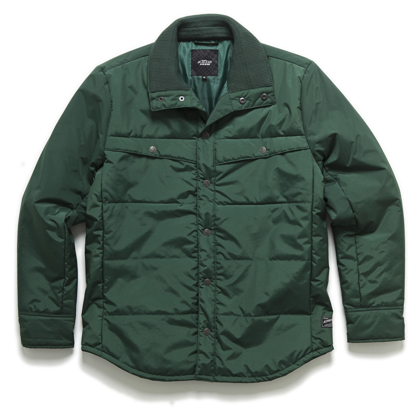 Alpinestars Men's Force Jacket, M, Forest Green