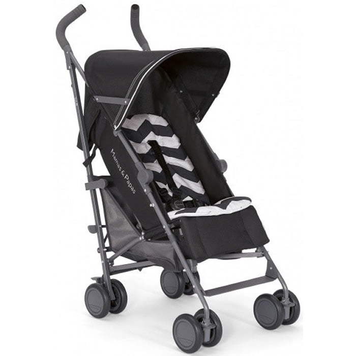 Mamas & Papas Tour Lightweight Stroller Buggy Black by Mamas %26 Papas