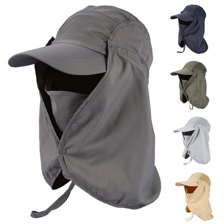 a5224f41a9f Hilitand 5Colors Outdoor Fishing Hiking Hunting Ear Face Flap Neck Cover  Sun UV Protection Hat Cap