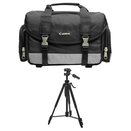 Canon 100DG Digital SLR Camera Case Gadget Bag + Deluxe T...