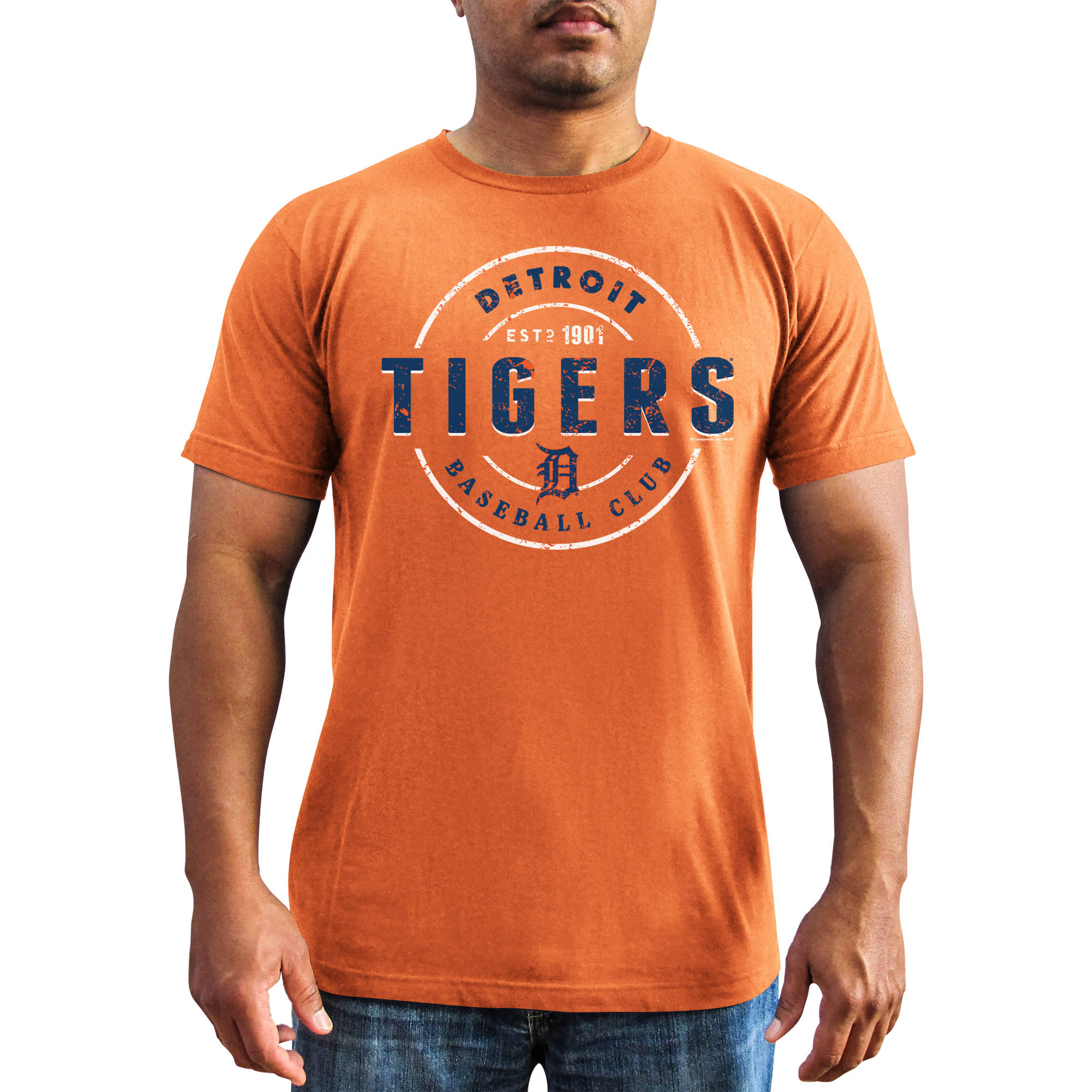 MLB - Big Mens Detroit Tigers Short Sleeve Team Tee