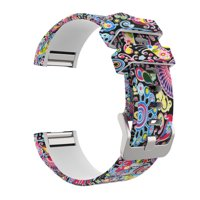 Tuscom Sport Silicone Replacement Wristband Wrist Strap For Fitbit Charge 2