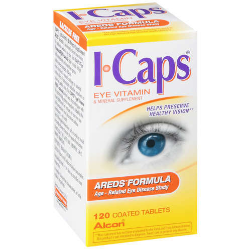 ALCON ICAPS AREDS Formula Eye Vitamin - 120 tabletss