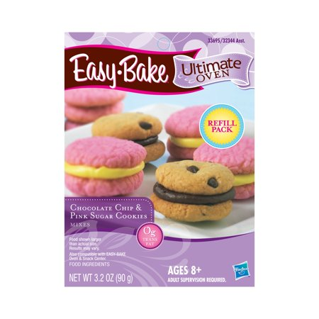 Easy-Bake Ultimate Oven Chocolate Chip and Pink Sugar Cookies Refill Pack ()