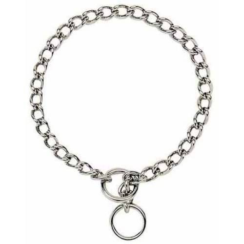 Alliance Heavy Chain Choke Dog Collar, 22""
