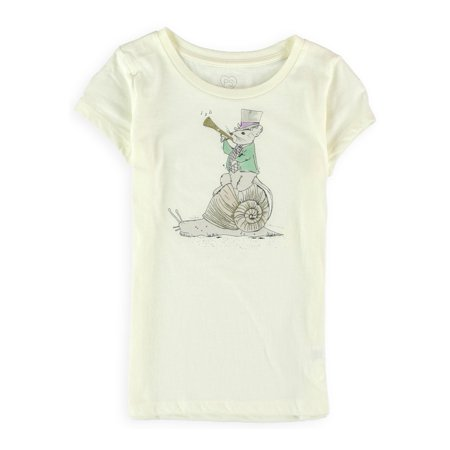 Aeropostale Girls Mouse Ringmaster Graphic T-Shirt