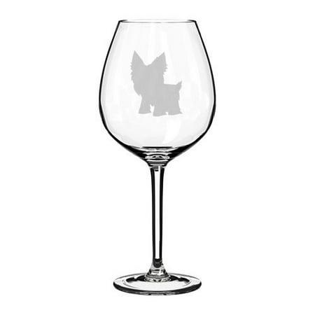 329 Glasses - Wine Glass Goblet Yorkie (20 oz Jumbo)
