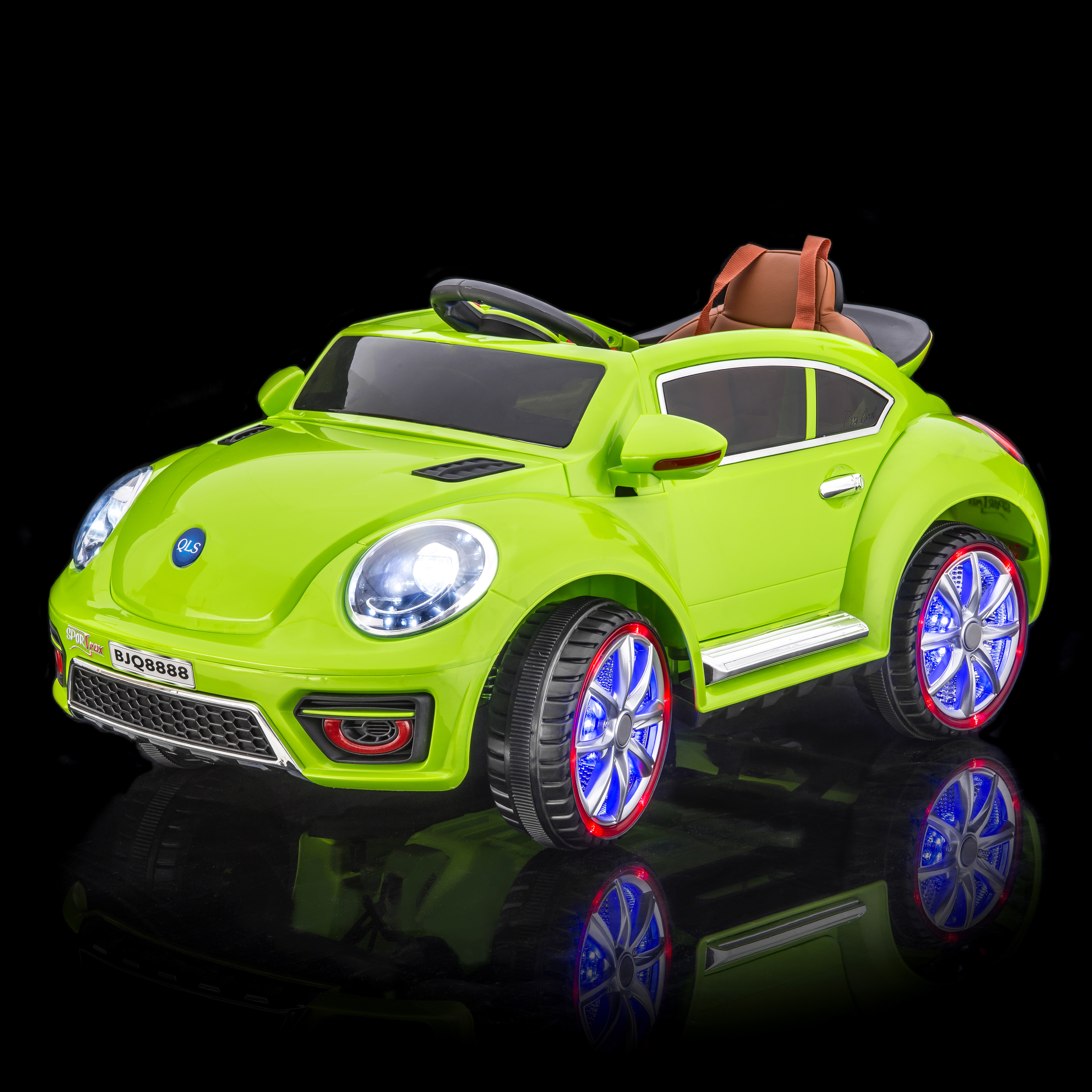 SPORTrax VW Beetle Style Battery Powered Riding Toy - ST8...
