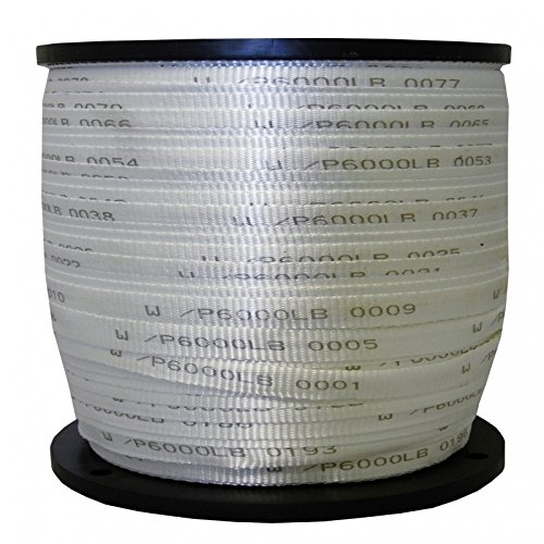 "USA Made 6000 Lb Polyester Pull Tape / Mule Tape - 1"" x 1000'"