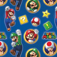 Super Mario Roll of Gift Wrap (20sq. ft)