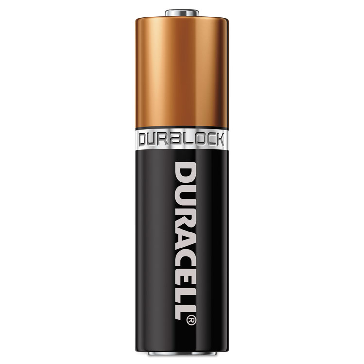 Duracell CopperTop Alkaline Batteries, Duralock Power Preserve , AAA, 144/CT - DURMN2400BKD