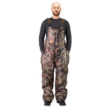 Men's Insulated & Waterproof Camo Bib Overalls Mossy Oak Pattern-hunting-hiking (3XL,Breakup (Camo Overalls)