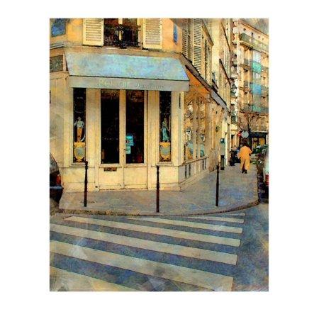 Bel Air Boutique, Paris, France Print Wall Art By Nicolas (Luc Bel Air Rare Rose Sparkling France)