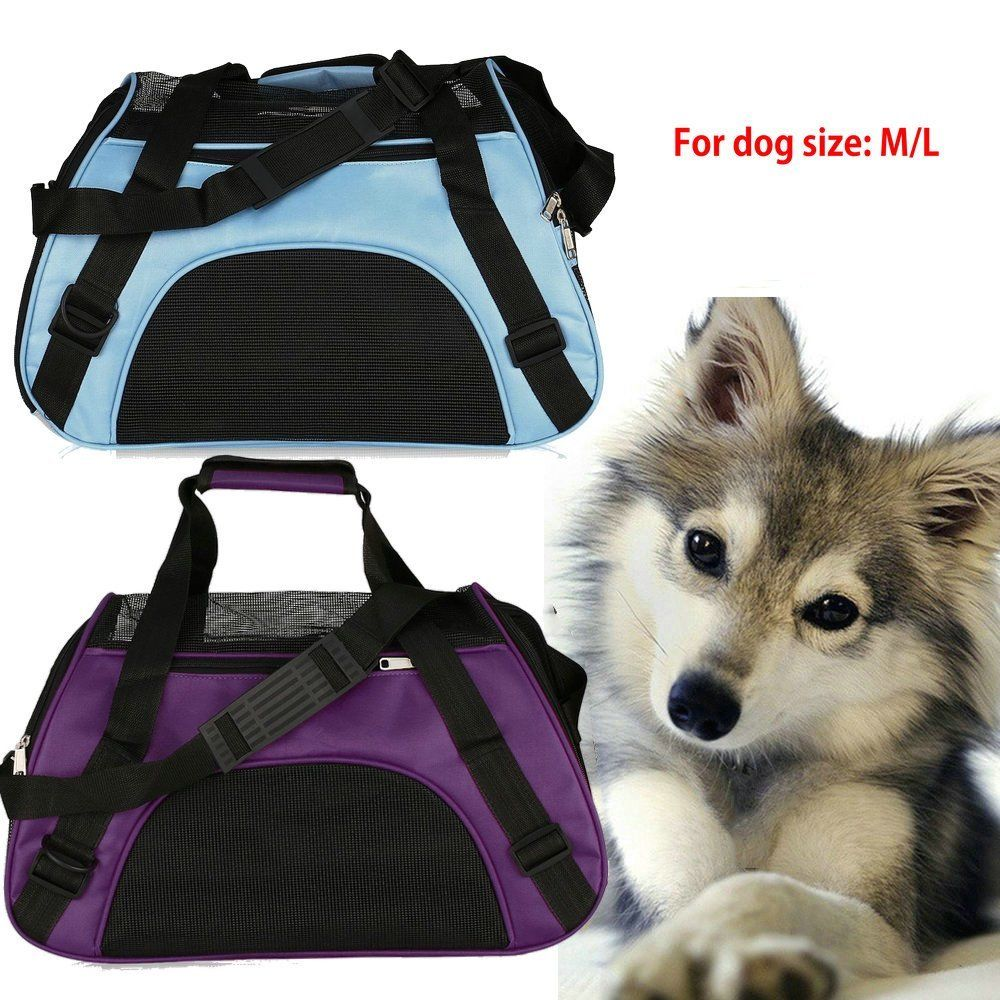 Dog Carriers For Small Medium Dogs, Dog Bag Carrier, Waterproof Nylon&Mesh Pet Carrier Cat Dog Handbag Tote... by