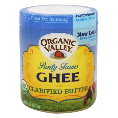 Purity Farms - Ghee Organic Clarified Butter - 7.5 oz(pack of 12 ...