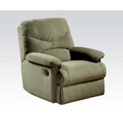 Arcadia Recliner (Motion) in Sage Microfiber 00630