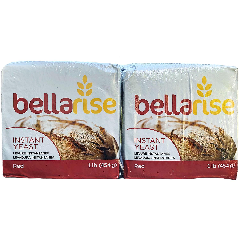 Bellarise Instant Dry Yeast 16 Ounce 2 Pack Walmart Com Walmart Com