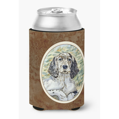 English Setter Patience Can or Bottle Hugger