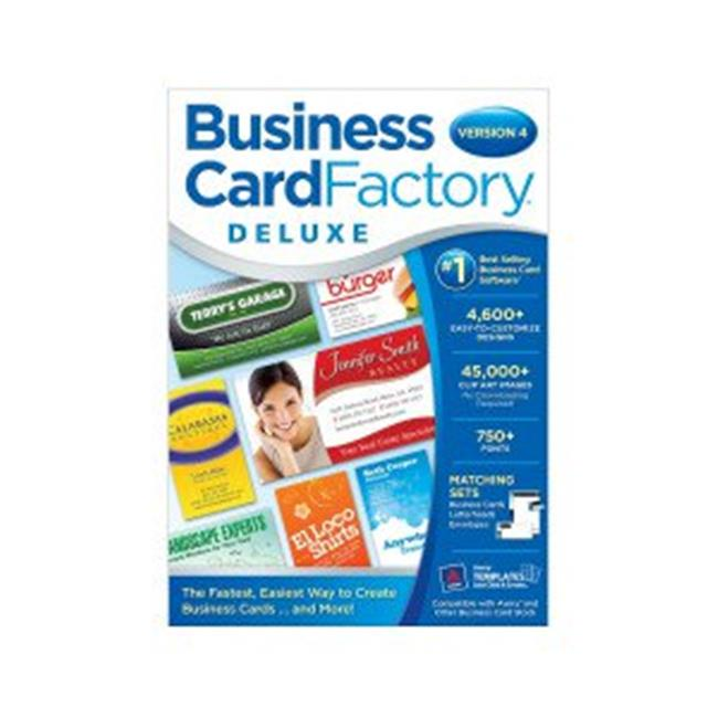 Business Card Factory Deluxe 4.0 (Email Delivery)
