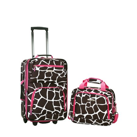 - Rockland Rio 2-Piece Carry-On Luggage Set