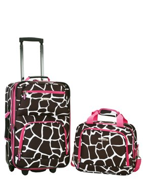 Product Image Rockland Luggage Rio SoftSide 2-Piece Carry-On Luggage Set 782f60913dd84