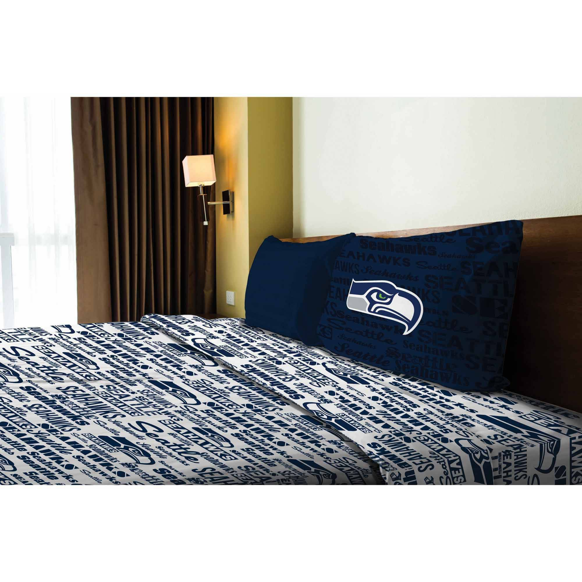 NFL Seattle Seahawks Sheet Set