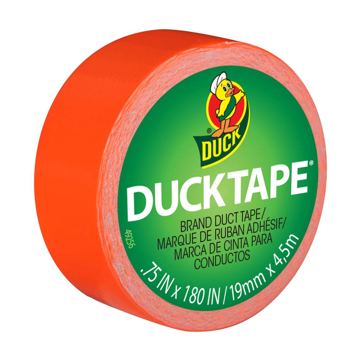 Duck Brand Neon Orange Duck Tape Mini