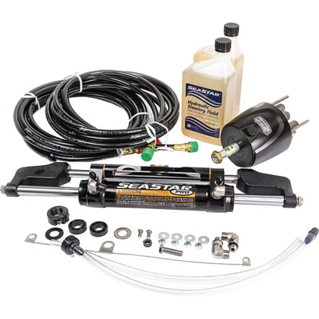 SeaStar Pro Hydraulic Steering Kit with Hoses (Prop Kit)