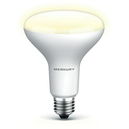 Merkury Innovations BR30 Smart Light Bulb, 65W Tunable White LED, 1-Pack