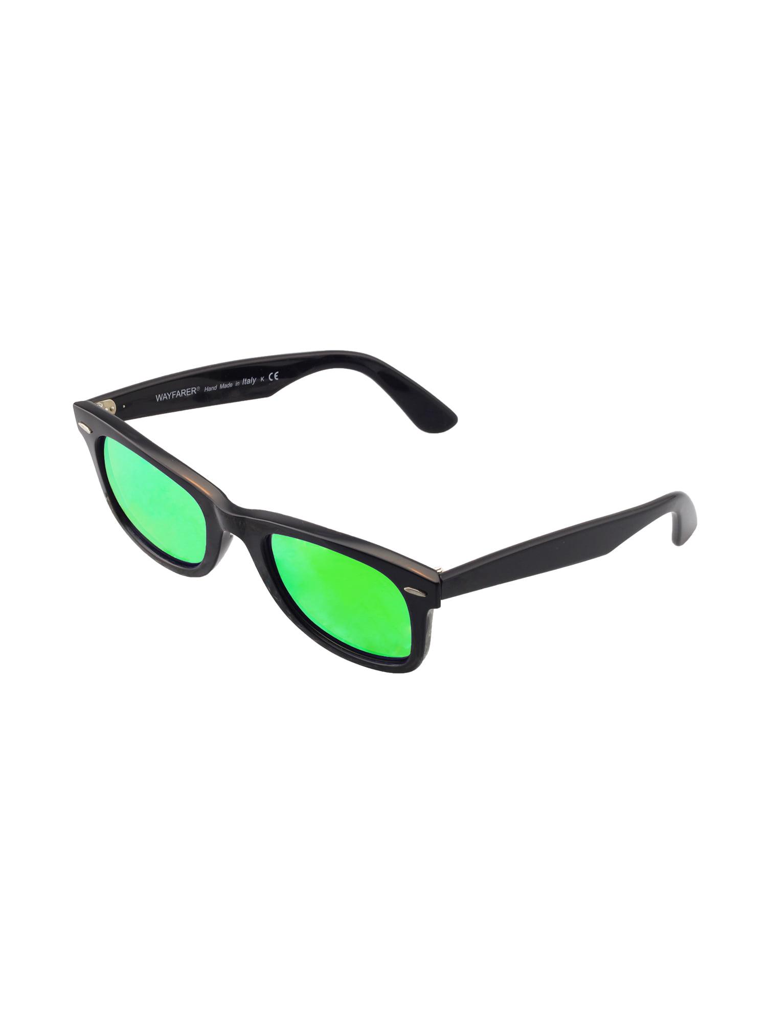 45bdc82ccd Walleva - Walleva Brown Polarized Replacement Lenses for Ray-Ban Wayfarer  RB2140 50mm Sunglasses - Walmart.com