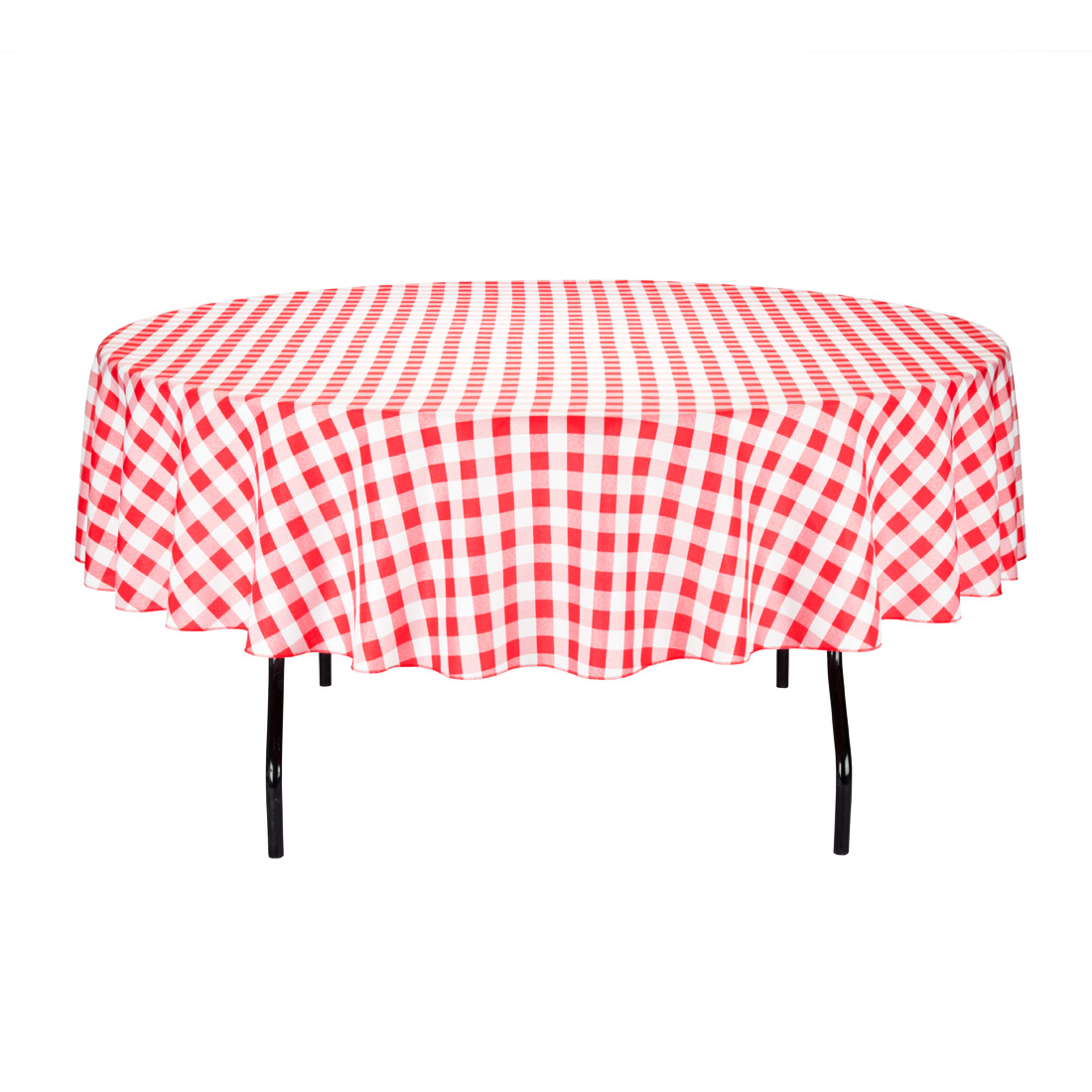 "Round 90"" Polyester Tablecloth Walmart"